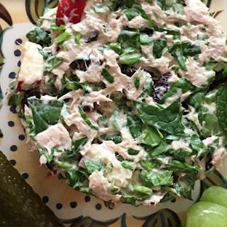 Amazingly Good and Healthy Tuna Salad.