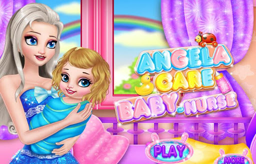 Nurse Baby - Angela Girl