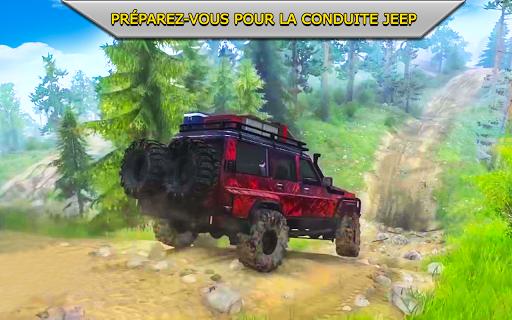 Code Triche hors route xtreme 4X4 se rallier courses chauffeur APK MOD screenshots 5