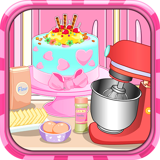 Birthday cake cooking Icon