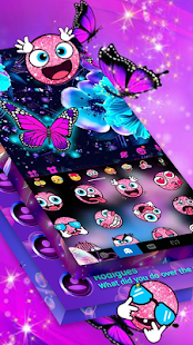 New Messenger 2020 - Butterfly Messenger Themes for PC-Windows 7,8,10 and Mac apk screenshot 16