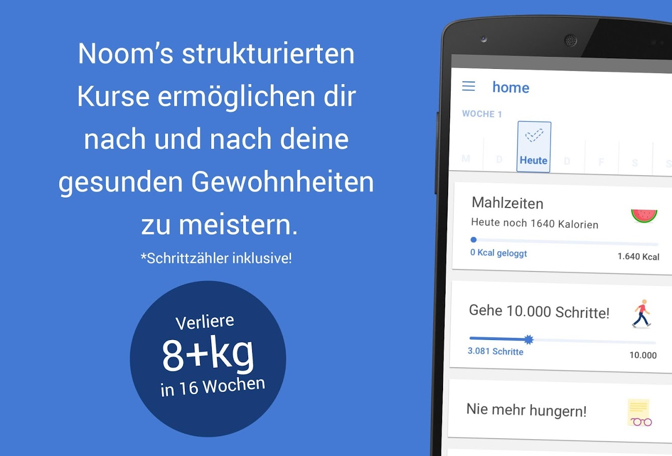 Noom Coach: Gewicht & Health – Screenshot