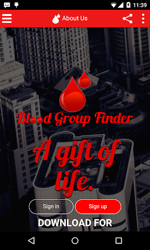 Blood Group Finder-A LifeLine