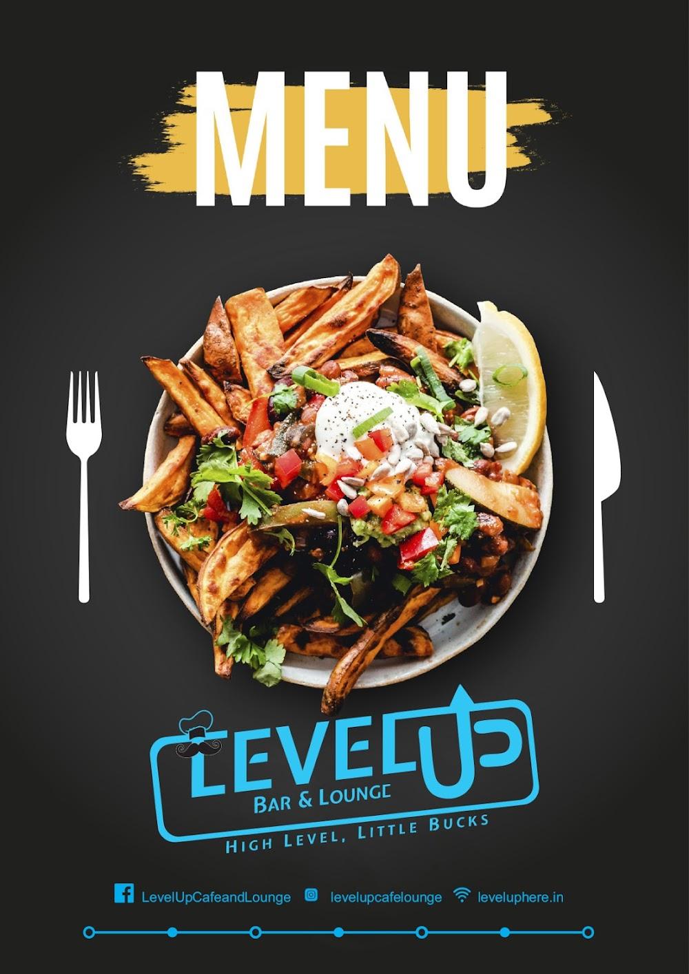 Level Up menu 1