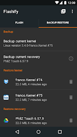 Flashify (for root users) Screenshot 7