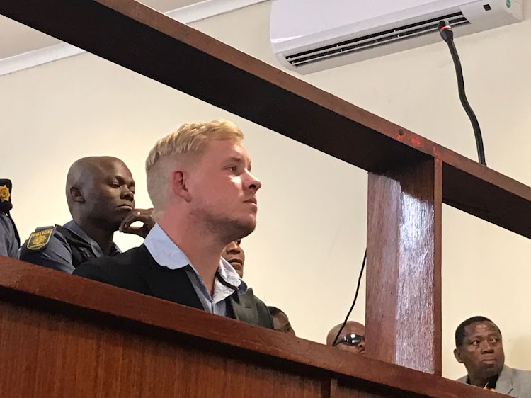 Matthew Benson appeared in the Brits Magistrate's Court. He was initially arrested on an attempted murder charge following the disappearance of Tebogo Ndlovu. Police have now added a charge or murder.