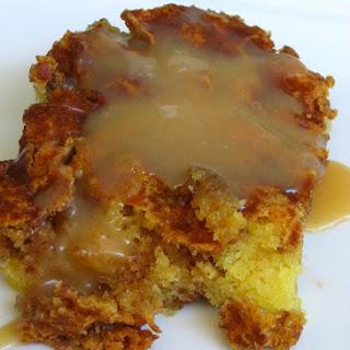 Honeybun Cake with Caramel Sauce