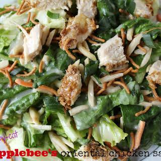 Healthy Copycat Applebee's Oriental Chicken Salad.