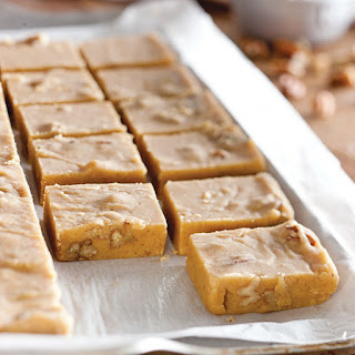 Buttery Pumpkin Pie Fudge.