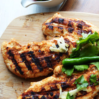 Tandoori Grilled Chicken Breast, a Bachelor's