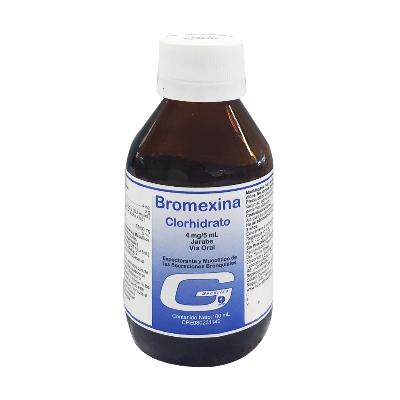 Bromexina 4mg/5ml Jarabe X100ml