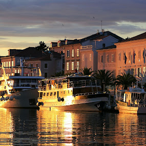 Sunset in Losinj  by Igor Modric - Transportation Boats (  )