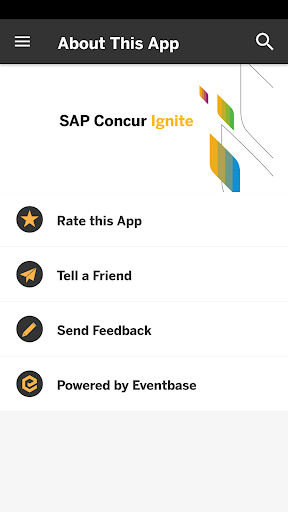 SAP Concur Events 1.0 screenshots 3