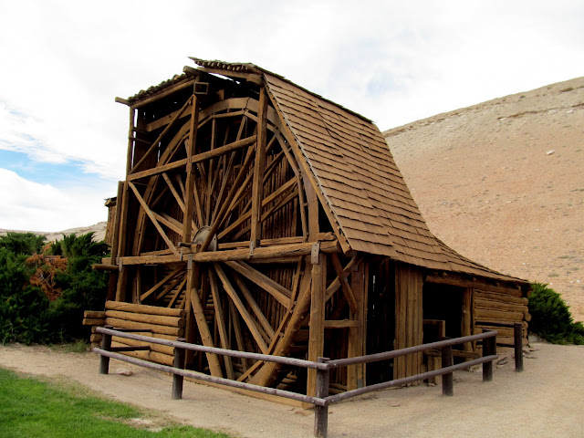 Wolverton's mill at the Hanksville BLM office