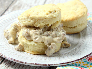 Buttermilk Biscuits N Sausage Gravy Recipe