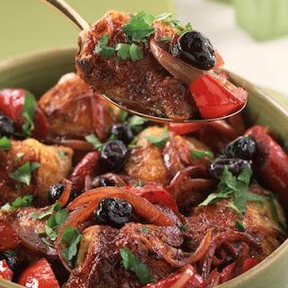 Mediterranean Chicken and Chorizo