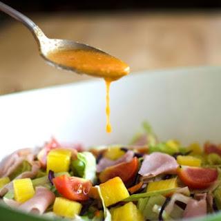 Hawaiian Pizza Salad #SundaySupper.