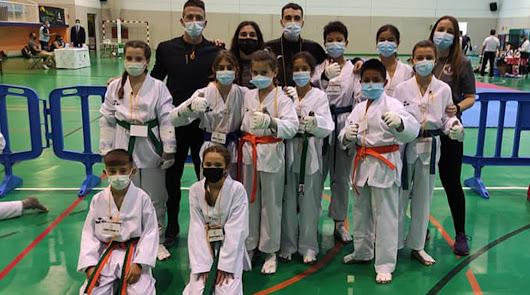 La EMD de taekwondo 'Club 301 Team' logra 16 medallas