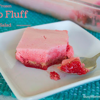 Frozen Jello Fluff Salad.