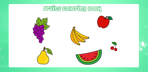 Fruits Coloring Game Drawing Book Kids Game Indir Pc Windows