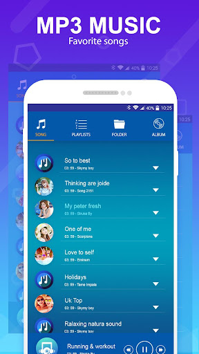 mp3 player - music player 1.1 screenshots 12
