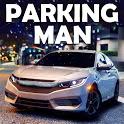Parking Man 3: Car Driving Simulator-Parking Game icon