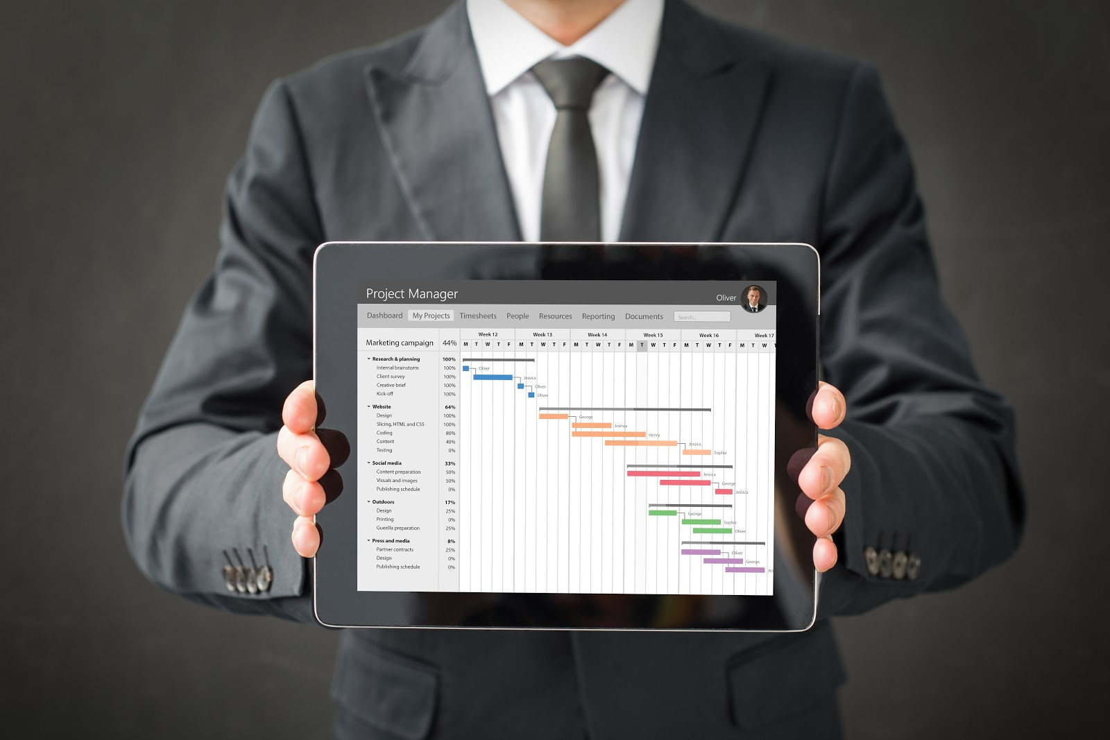 Project Manager Data Sheet
