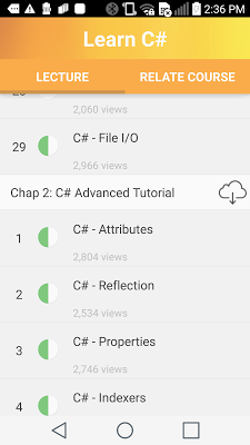 Learn C# - screenshot