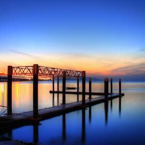 Good Morning Penang by Azira Ahmad - Landscapes Beaches ( olympus landscapes advertisement female sunrise sunset )