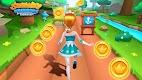 screenshot of Subway Princess Runner