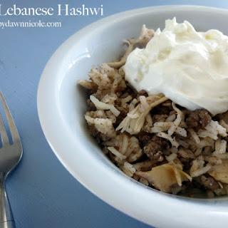 Easy Lebanese Hashwi
