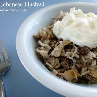Easy Lebanese Hashwi.