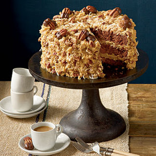 Mama's German Chocolate Cake.
