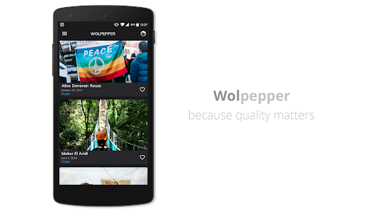 Wolpepper - The Wallpaper App - Android Apps on Google Play