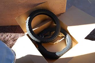 Photo: New Tires