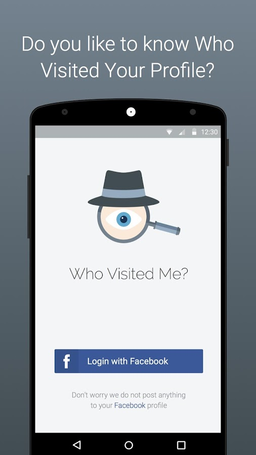 Who Visited Me On Facebook ?  Stalkers Visitors- screenshot