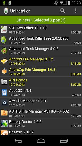 Uninstaller 1.5.8 Screenshots 3