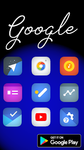 Blaze the icon pack Screenshot