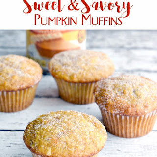 Sweet and Savory Pumpkin Muffins