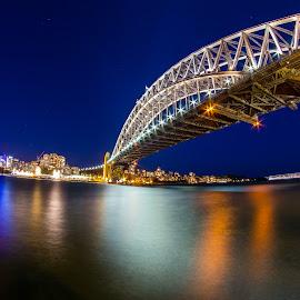 Sydney Harbour Bridge, Sydney, Australia by Rechard Sniper - Buildings & Architecture Bridges & Suspended Structures