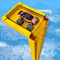 Mega Ramp Monster Truck Driving Stunts Racing Game icon