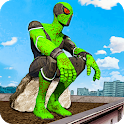Frog Rope Hero Ninja  - Gangster Vegas icon