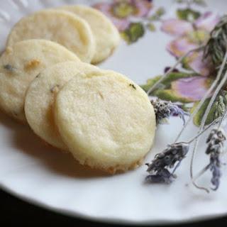 5-Ingredient Lavender Shortbread Cookies