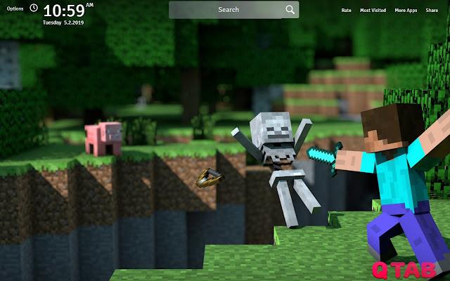 Minecraft Wallpapers HD New Tab