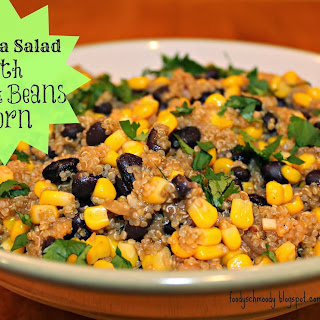 Quinoa Salad w/ Black Beans & Corn