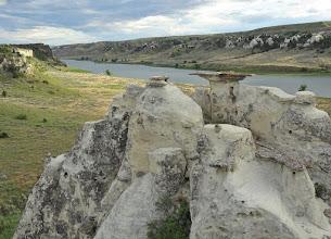 Photo: Virgelle Sandstone formations