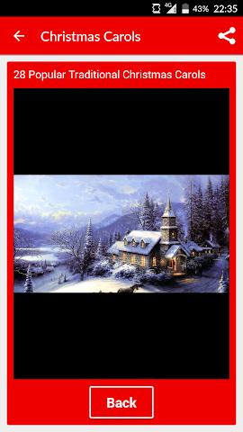 android Weihnachtslieder und Lied Screenshot 2