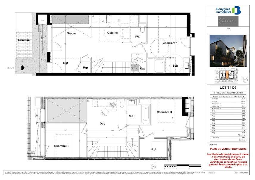 Vente appartement 4 pièces 86 m² à Ambilly (74100), 446 500 €