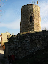 Photo: Odena, torre del castell
