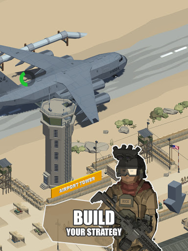Idle Warzone 3d: Military Game - Army Tycoon 1.1 screenshots 17